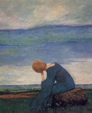Source Sehnsucht (c. 1900). Heinrich Vogeler Wikimedia Commons